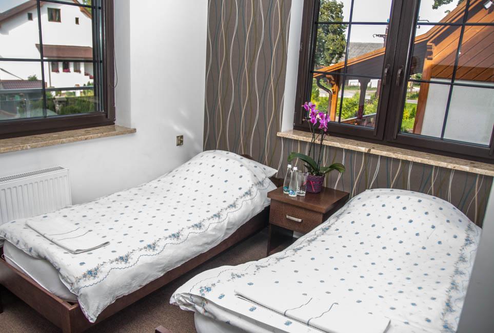 domek-wnętrze Zajazd Nad Stawem w Grabówku